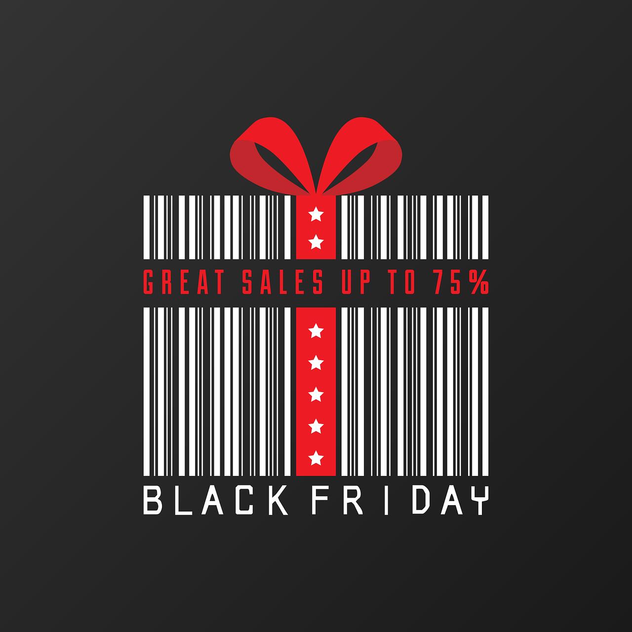 Kupuj prezenty w Black Friday